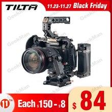 Tilta TA T17 A G Rig Cage For Sony A7II A7III A7S A7S II A7R II A7R IV A9 Rig Cage For SONY A7/A9 series Tiltaing VS Smallring