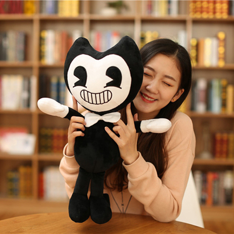 Halloween Gift Bandy and Ink Printer Thriller Game Plush Toy Size 30c/50cm Plush Doll Soft Toys For Children Kid Christmas Gift 1