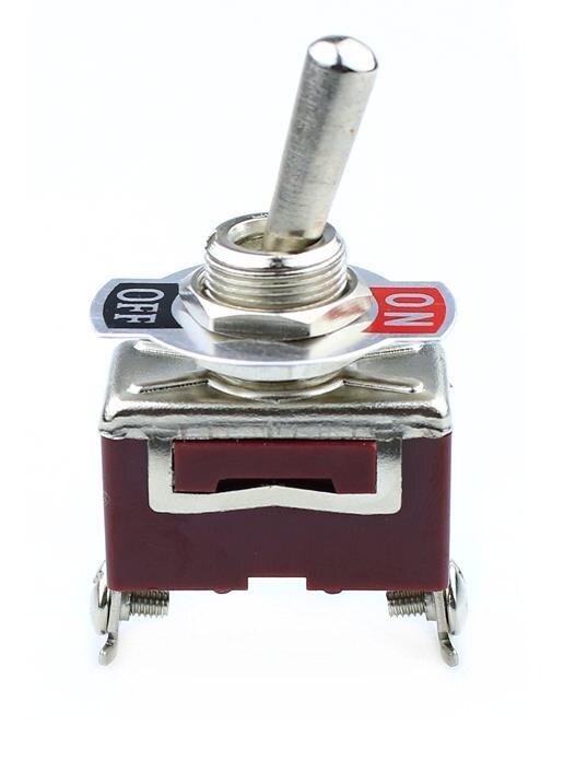 12V Heavy Duty Toggle Flick Switch ON//OFF Car Dash Light Metal SPST 1pcs