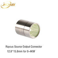 JHCHMX Raycus Fiber Laser Source Protective Lens Group Output Connector 12.8*15.8mm For 0 6KW Raycus Fiber Power Source