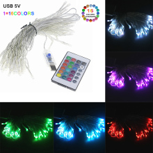 USB with remote control fairy tale string party Christmas lights garland fairy lights Christmas tree wedding party decoration