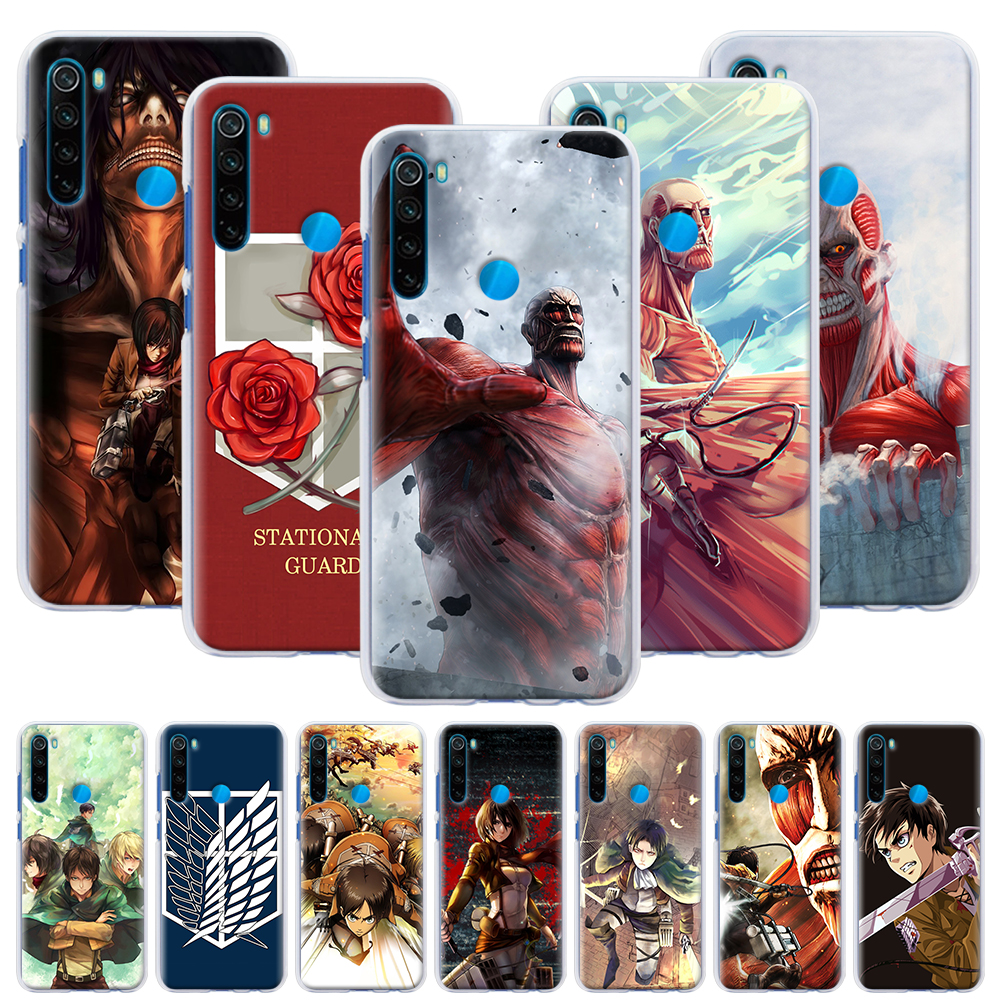 Anime Japanese attack on Titan Hard Case for Xiaomi <font><b>Redmi</b></font> Note 6 7 8 Pro 8T 9S 9 Pro 6A <font><b>7A</b></font> 8A K20 K30 Pro <font><b>Phone</b></font> <font><b>Cover</b></font> Capa image