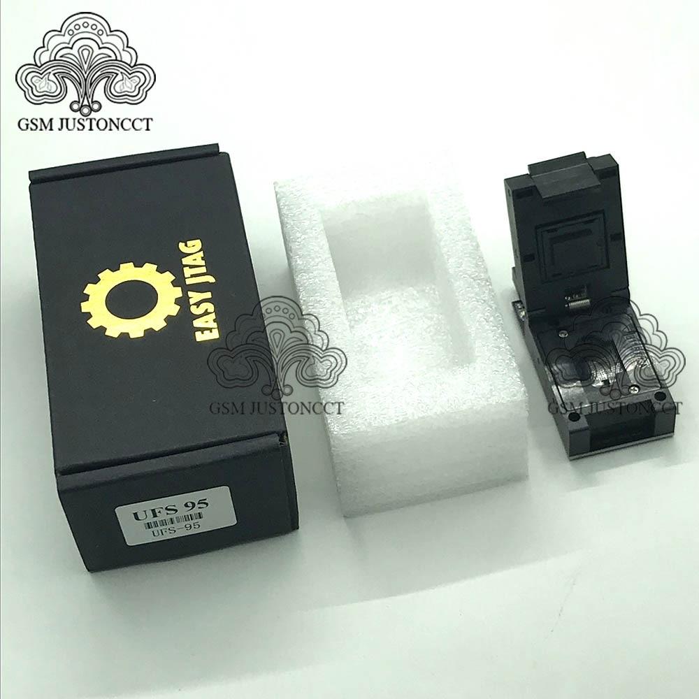 Easy Jtag Plus Box Easy-Jtag Plus UFS BGA 95 Socket Adapter(China)