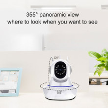 WIFI Wireless HD Camera with 3 Antennas Automatic Tracking Indoor Outdoor Security OUJ99