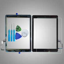 Digitizer Camera-Holder A1474 Touch-Screen iPad Home-Button for Air1/1st Glass A1474/A1475/A1476