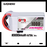 Gaoneng GNB 1000mAh 22.2V 6S 120C/240C Lipo battery with XT30 or XT60 Plug for FPV Racing Drone RC Quadcopter Helicopter parts