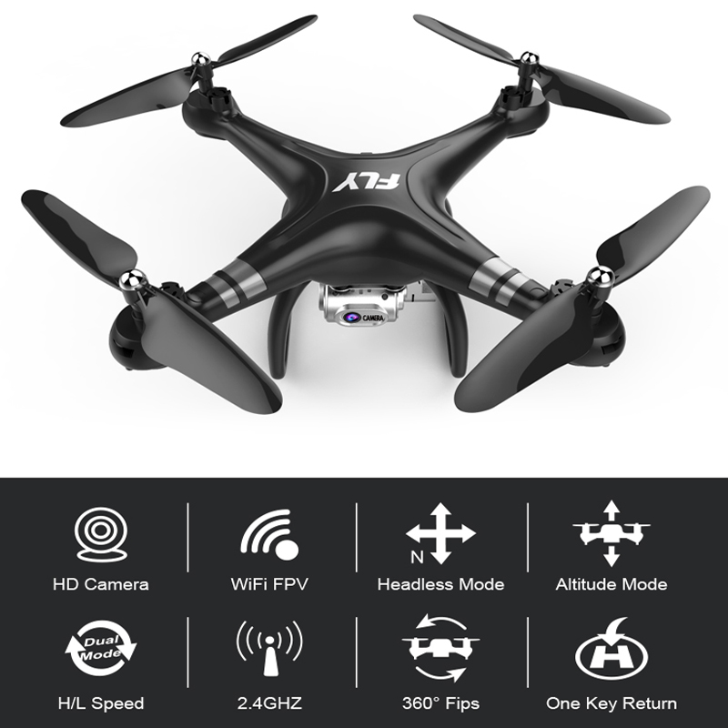 RC Drone Quadcopter With 1080P Wifi FPV Camera RC Helicopter 20-25min Flying Time Professional Dron 720p Quadcopter Drone