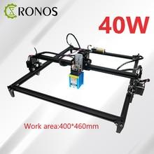 15W/30W/40W Desktop Laser Engraver and Cutter - Laser Engraving and Cutting Machine - Laser Printer - Work Area 40*50cm