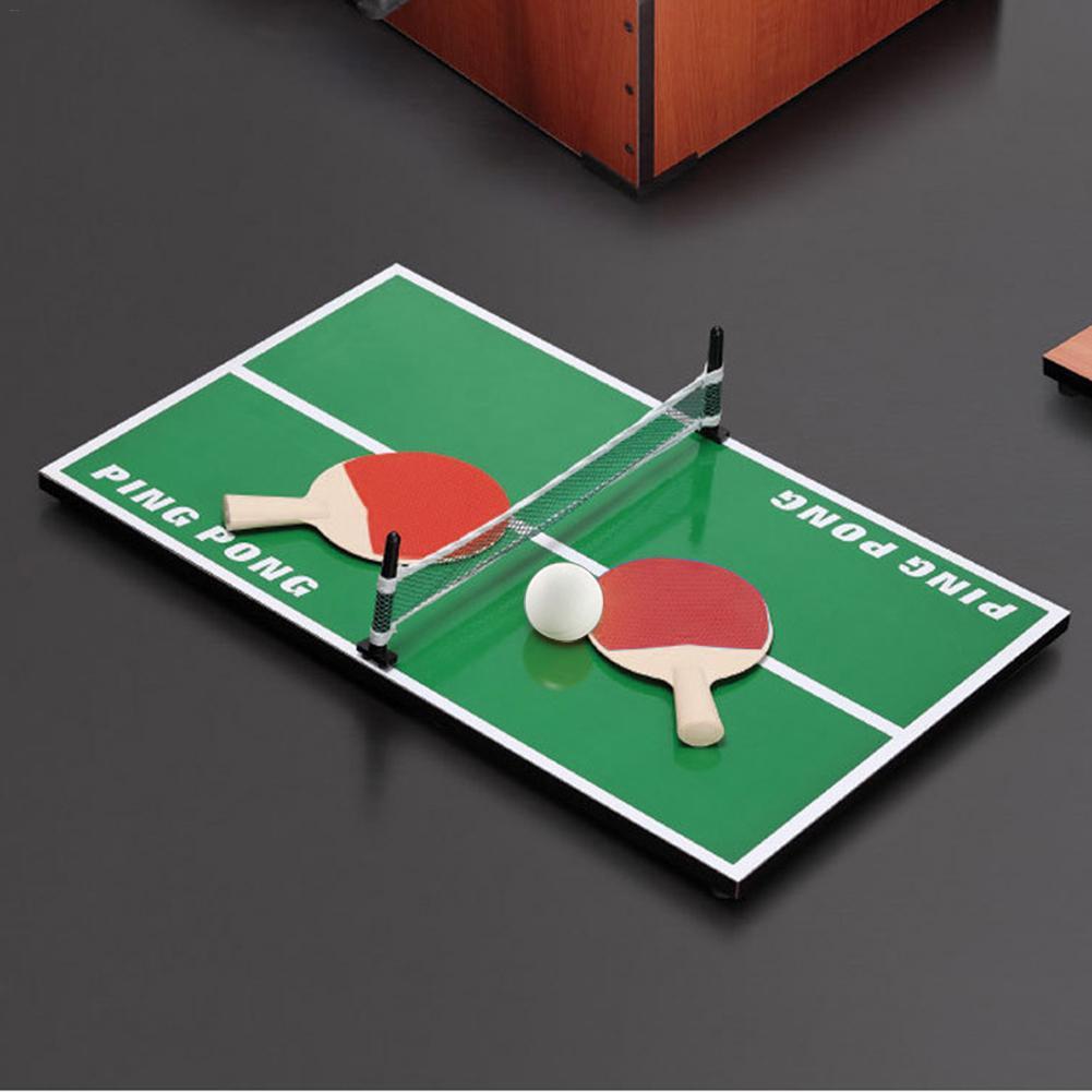 Мини-стол для пинг-понга, настольный набор, деревянные детские развивающие игрушки, мини-теннисный стол, тренировочный инструмент для детей, идеальный подарок