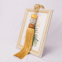 2pcs/lot A pair of Golden Tapestry Tassel Brush Coffee Curtain Hanging Spike