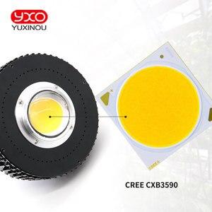 Image 2 - Davvero Uscita CREE CXB3590 100W Citizen 1212 COB LED Coltiva La Luce a Spettro Completo Crescere Lampada per le Piante Idroponica Tenda