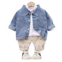 Новые детские джинсы на весну и осень рабочая одежда Детский