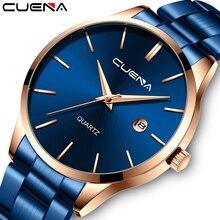 CUENA Mens Watches Top Brand Quartz movement Luxury business