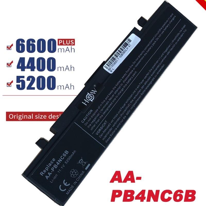 Batería de ordenador portátil para Samsung P460, P560, Q210, Q310, R408, R45, R410, R458, R460, R510, R560, NP-P50, NP-P60, NP-R40, NP-R45, NP-R65