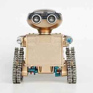 Image 2 - DIY 金属インテリジェントリモコンスマートロボット組立教育モデル構築のおもちゃ誕生日ギフトのための 10 以上