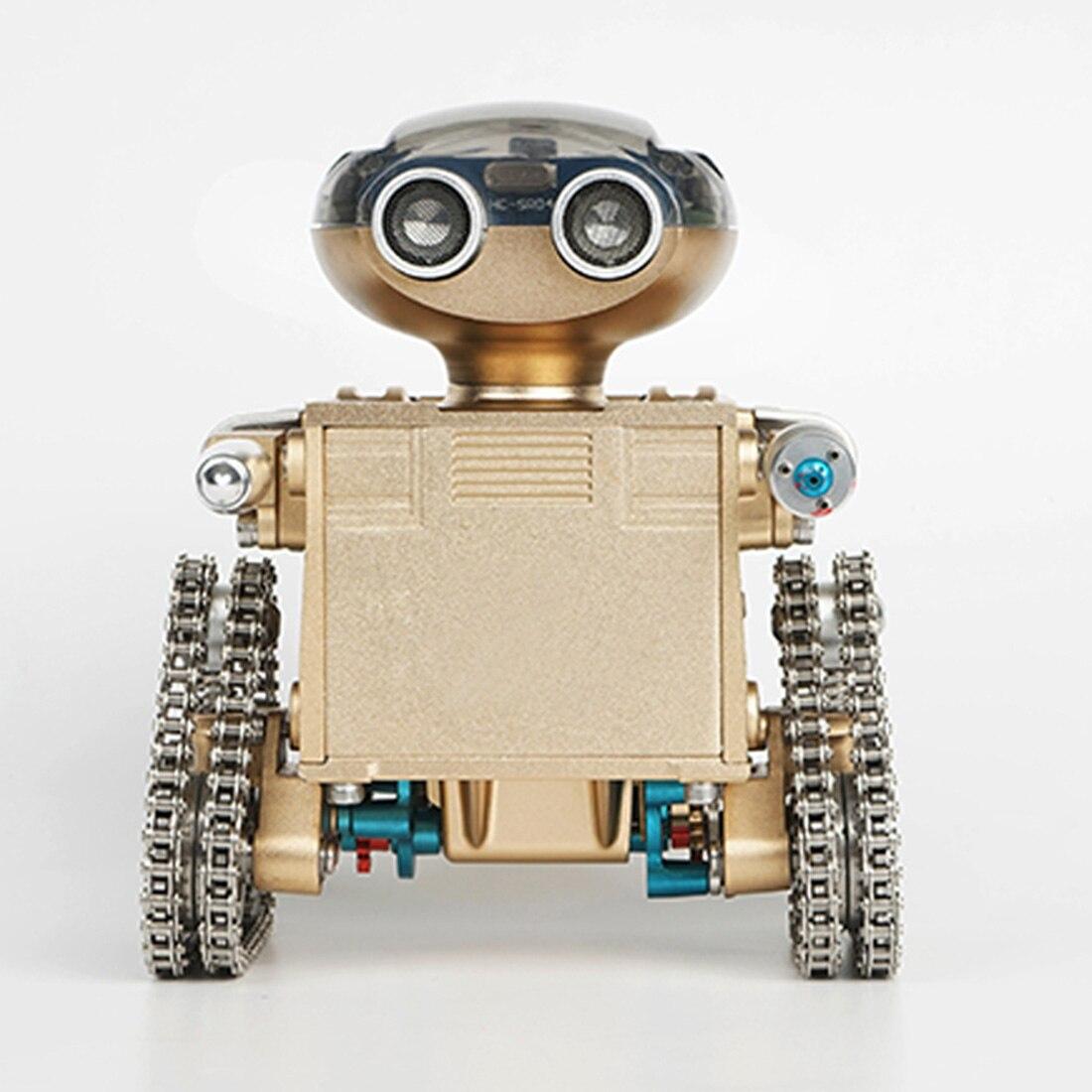 DIY Metall Intelligente Fernbedienung Smart Roboter Montage Pädagogische Modell Gebäude Spielzeug Geburtstag Geschenk für Junge Über 10 - 2