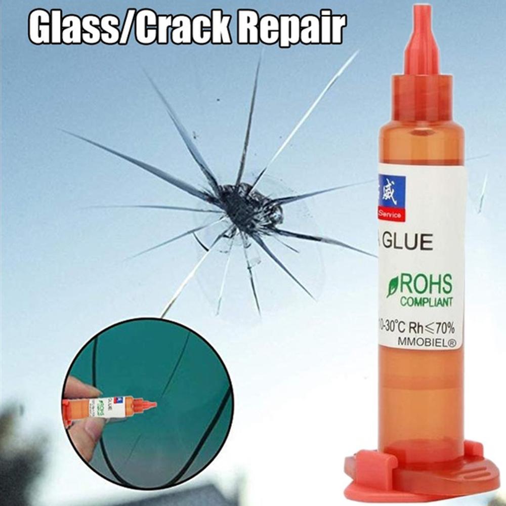 UV Glue Optical Clear Glue Window Repair Tool For Repair Long Crack Glass Broken Crack Qucikly Restore Window Or Screen