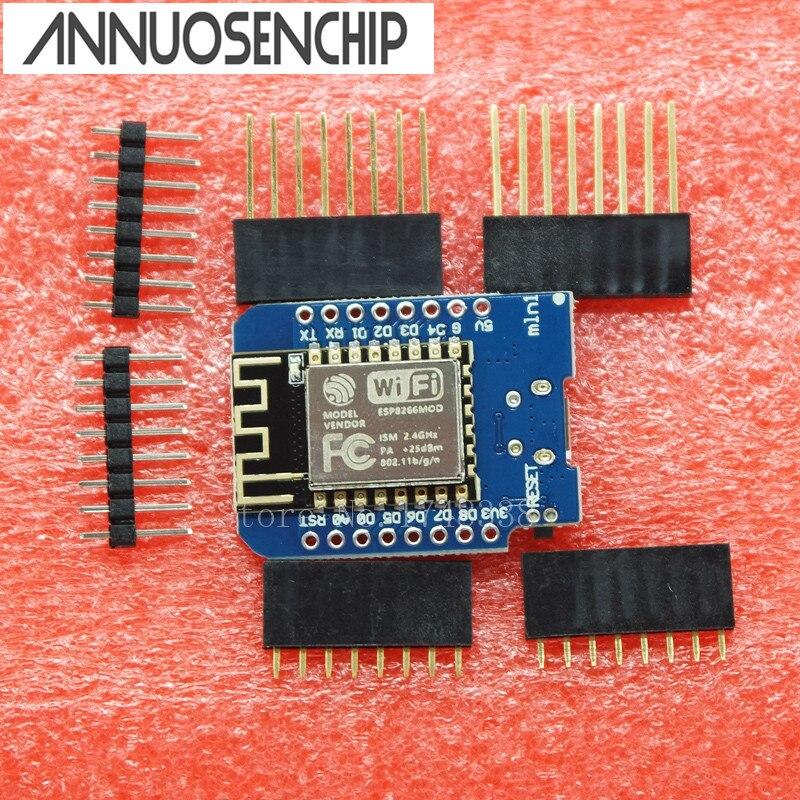 ESP8266 ESP-12 USB WeMos D1 Mini WIFI макетная плата D1 Mini NodeMCU Lua IOT плата 3,3 В