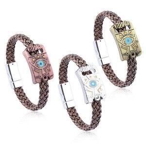 Fashion 1 PCS Bracelets from Hot Game PS4 SW Handheld Games The Legend of Zelda Bracelet COS Memorial Gift Pendant