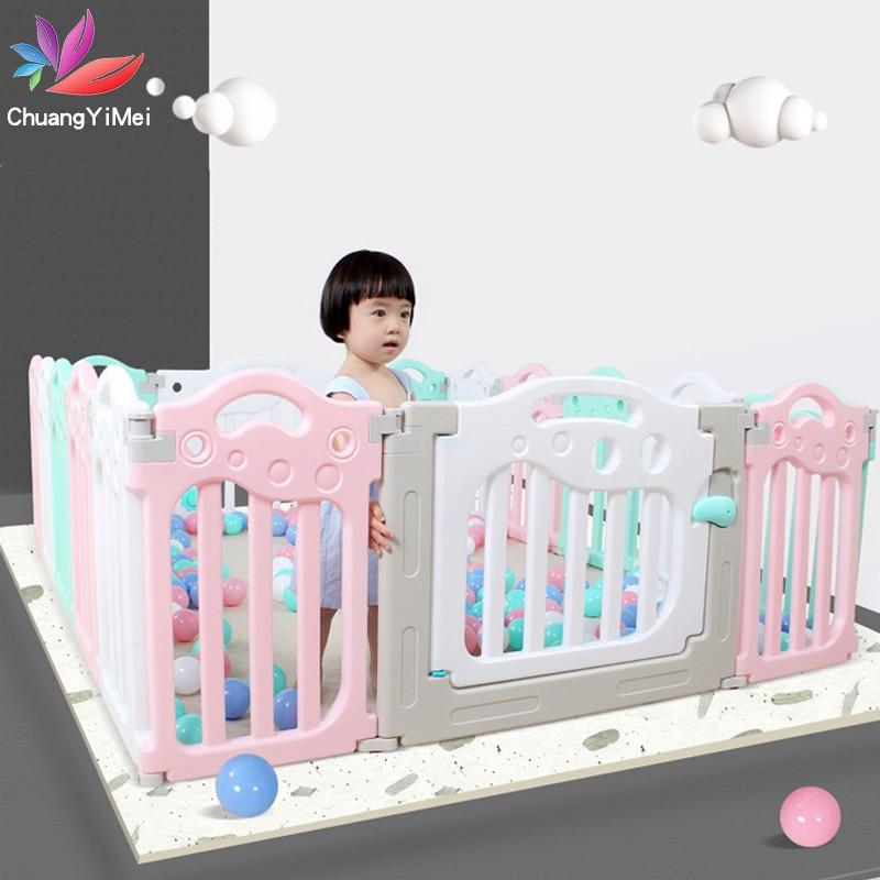 Baby Playground Playpen For Children Ball Pool Pit Baby Ball Pit For Babies Playpen For Baby Fencing For Children Safety Barrier