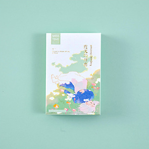 52mm*80mm Light Song Paper Greeting Card Lomo Card(1pack=28pieces)