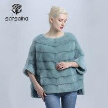 Vrouwen Echt Nertsen Jas Winter Losse Real Mink Fur Jacket Dikke Warme Vrouwelijke Natuurlijke Nerts Kleding Uitloper Casual 2020 Nieuwe collectie