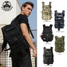 лучшая цена Military tactical backpack men's military camouflage bag outdoor hunting camping bag hiking mountaineering backpack