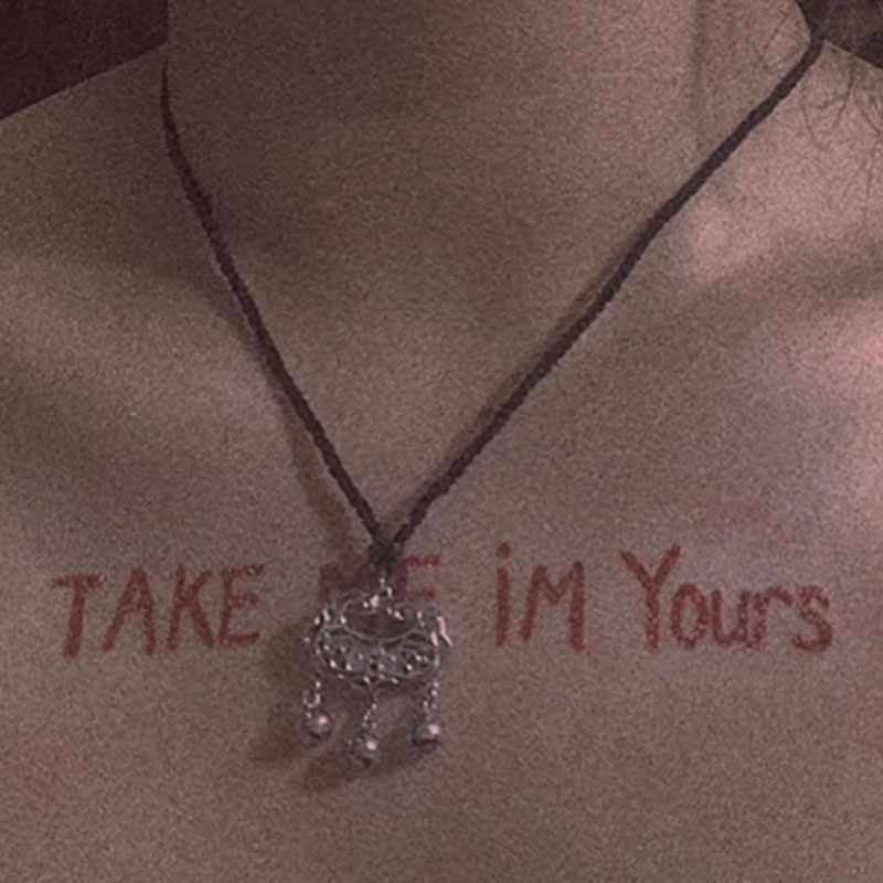 Tatuajes adhesivos resistentes al agua falsos temporales, pegatinas de tatuaje negro diablo no dormir letras en inglés, geniales herramientas de diseño para arte corporal