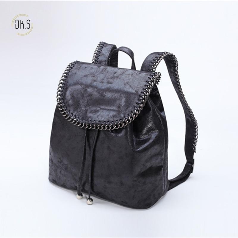 New Arrival Women Fashion Design Backpack PVC Luxury Brand Women Shoulder Bag High Capcity Girls School Bag