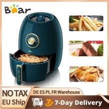 Bear – friteuse à Air électrique 1350W, sans huile, minuterie réglable, pour gâteaux, frites, A19A, 3L