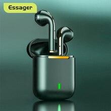 Essager J18 TWS 블루투스 헤드폰 스테레오 진정한 무선 헤드셋 이어폰 핸즈프리 이어폰 휴대 전화 용 이어 버드