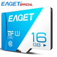 EAGET T1 Micro SD Karte Class10 128GB Speicher Karte 32GB 16GB Micro SDXC TF Karte 64GB hohe Geschwindigkeit UHS-I Flash für Handys Tablet