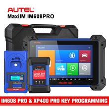 Autel IM608PRO Advanced Key Programming All System Diagnostics Tool w/ XP400 PRO Key Programmer ECU Coding Upgrade IM608 & IM508