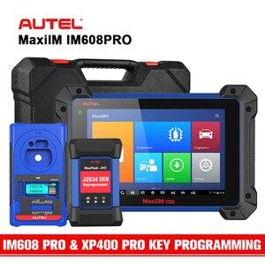Image 1 - Autel IM608PRO מתקדם מפתח תכנות כל מערכת אבחון כלי w/ XP400 פרו מפתח מתכנת ECU קידוד שדרוג IM608 & IM508