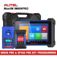 Autel im608pro programação chave avançada todos os diagnósticos do sistema ferramenta com xp400 pro programador chave ecu codificação atualizar im608 & im508