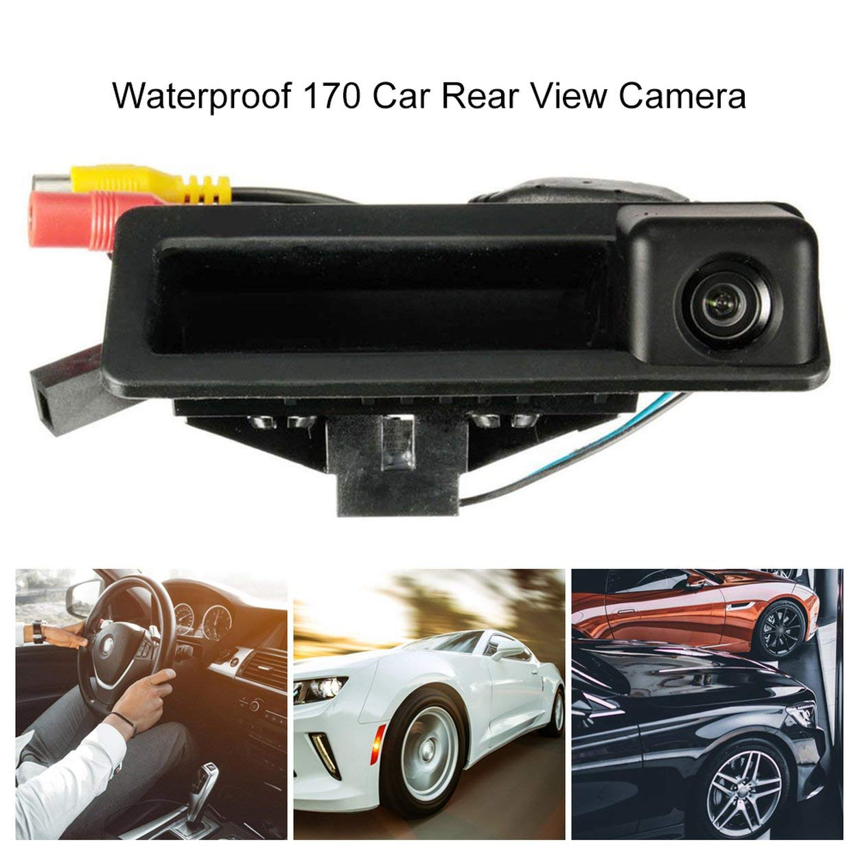 Car Reversing Rear View Camera For Bmw 3/5 Series X5 X1 X6 E39 E46 E53 E82 E88 E84 E90 E91 E92 E93 E60 E61 E70 E71 E72 image