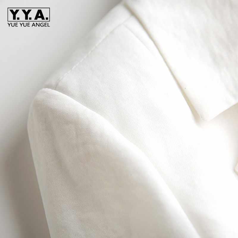 세련된 최고 품질의 여성 맞춤형 칼라 슬림 피트 ol 블레 이저 정장 긴 소매 자켓 코트 outwears 여성 화이트 블랙 xl 사이즈