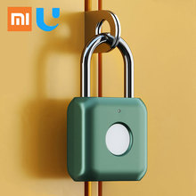 Xiaomi YD Fingerprint Lock Intelligent Padlock Kitty Hardcore Technology Fingerprint Waterproof Smart Home Safety Quick Unlock