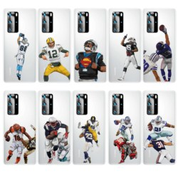 На Алиэкспресс купить чехол для смартфона soft tpu phone case cartoon rugby players phone shell for huawei p40 pro p30 mate30 mate 20 p20 lite