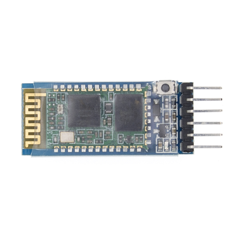 Image 4 - 50pcs/LOT HC05 anti reverse, integrated Bluetooth serial pass through module, HC 05 master slave 6pin-in Integrated Circuits from Electronic Components & Supplies