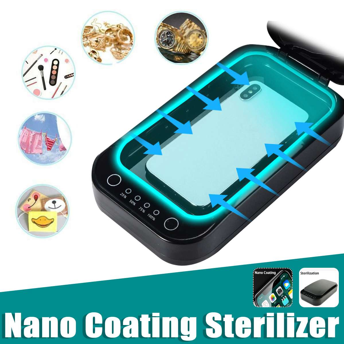 Multifunctional Tempered Film Coating Machine Set Sterilizer Mobile Phone Liquid Screen Protector mobile accessory