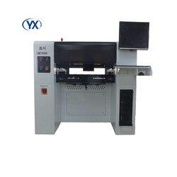 Máquina de recogida y colocación SMT880 con 8 cabezales + 80 alimentadores + 10 cámaras, fabricada en China