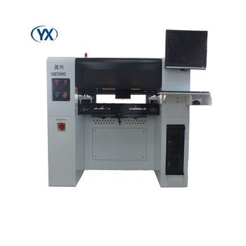 Machine de ramassage et de placement SMT880 avec 8 têtes + 80 mangeoires + 10 caméras fabriquées en chine