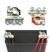2pcs Car Accessories Auto Battery Terminal Connector Battery Quick Release Battery Clamps For Boat Race Car UTV Tractor Truck
