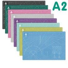 A2 60*45cm placa de corte grade linha auto-cura placa ofício cartão multi-cor dupla face desktop almofada de corte placa de apoio
