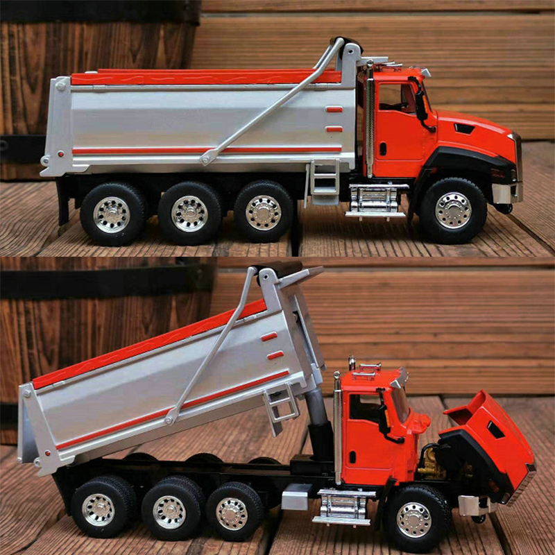 Fine  1:50  CT660  Dump Truck Engineering Vehicle  Mud Truck Model  Display Model Of Alloy Products
