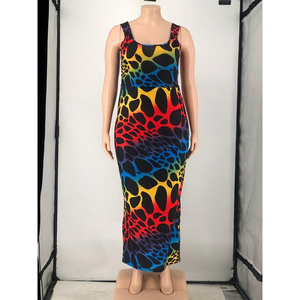 Plus Size Women Clothing Two Piece Set  6