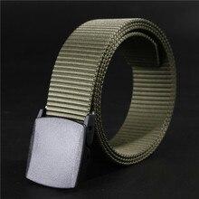 Wild-men-Canvas-Belt-Гипоаллергенный-металл бесплатно-пластик-Автоматическая пряжка женский ремень Молодежный без металлической автоматической пряжки студенческий