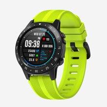 SENBONO M5 GPS spor akıllı saat desteği Bluetooth çağrı IP67 erkekler kadınlar saat spor izci nabız monitörü Smartwatch