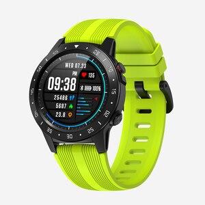 Image 2 - SENBONO reloj inteligente con GPS para hombre y mujer, reloj inteligente deportivo con control del ritmo cardíaco, Bluetooth, llamadas, IP67